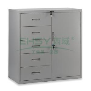 五斗单门柜,  920×900×400mm,仅限上海地区