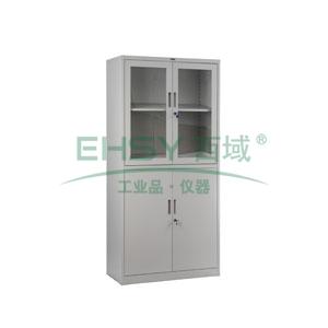 玻璃双节开门柜, 1840×900×400mm,仅限上海地区