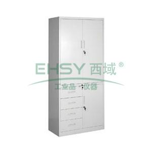 开门四斗单门柜, 1840×900×400mm,仅限上海地区