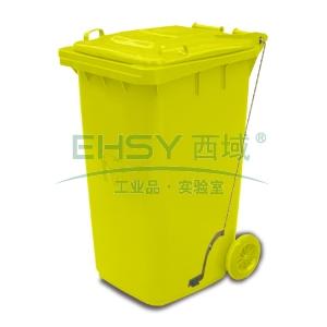 垃圾桶,踏板式移动垃圾箱