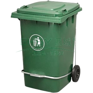 垃圾桶,脚踏式两轮移动垃圾箱