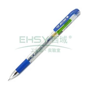 晨光 中性筆,插蓋式 0.38MMK-37(蘭色,12支/盒)配MG-6100筆芯 單位:盒
