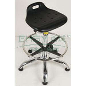 防静电工作凳,PU聚氨酯发泡 调节高度570~850mm(散件不含安装)