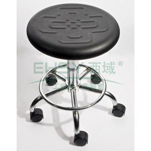 防静电工作凳,PU聚氨酯发泡 调节高度440~580mm(散件不含安装)