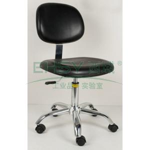 力點 防靜電工作椅,人造皮革 調節高度420~560mm(散件不含安裝)