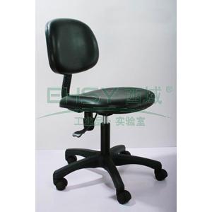 防静电工作椅,人造皮革 调节高度410~550mm(散件不含安装)
