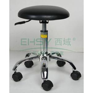 防静电工作凳,人造皮革 调节高度410~550mm(散件不含安装)