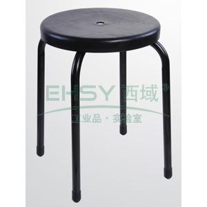 防静电工作凳,塑料 高度440mm(散件不含安装)