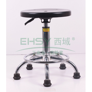 防静电工作凳, 塑料 调节高度440~580mm(散件不含安装)