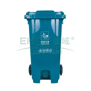 垃圾桶,中间踏板式移动垃圾箱