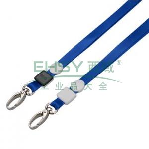 晨光 M&G 金属橄榄扣挂绳 AWT90987B 10mm (蓝色) 20根/包
