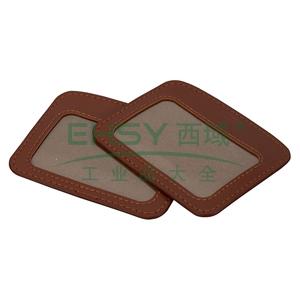 晨光 M&G 横式皮质证件卡 AWT90991 50只/盒