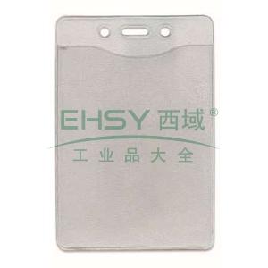 贝迪透明软身展会卡套 ,  竖式  82.5*120.5mm 材质乙烯树脂 10个/包