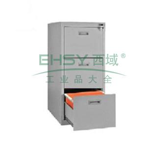 三抽卡片柜,460宽*620深*1060高,图片色,0.7mm厚度