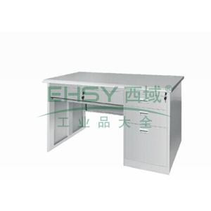 平面写字桌,1200(W)x700(D)x740(H)灰白色 仅限上海
