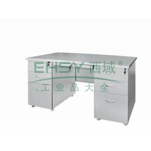 弧面写字桌,1400(W)x700(D)x740(H)灰白色 仅限上海