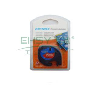 DYMO SC91203易可贴标签带(4m/卷) 标签带 (红底/黑字)