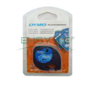 DYMO SC91205易可贴标签带(4m/卷) 标签带 (蓝底/黑字)