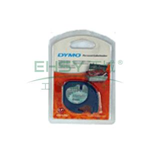 DYMO SC91209易可贴标签带(4m/卷) 标签带 (银绿底/黑字)
