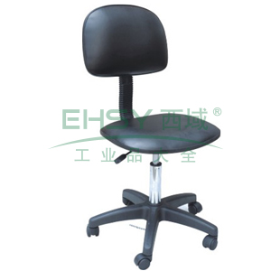 科高 防静电椅,PU皮革,高度可调480-620mm,椅座430X400mm,COS-101(散件不含安装)