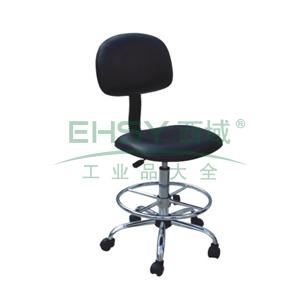 科高 防静电椅,PU皮革,高度可调560-760mm,椅座400X300mm,COS-103(散件不含安装)
