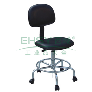 科高 防静电椅,PU皮革,高度可调520-660mm,椅座400X300mm,COS-106(散件不含安装)