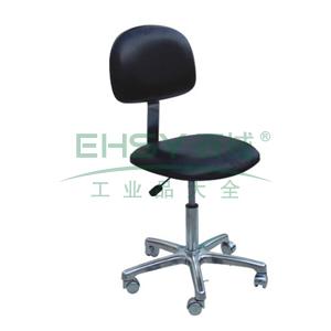 科高 防静电椅,PU皮革,高度可调460-600mm,椅座400X300mm,COS-107(散件不含安装)
