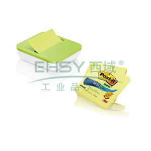 3M Post-it®便条纸,2+1套装 R330P绿色 100页/本×2本送OL1000