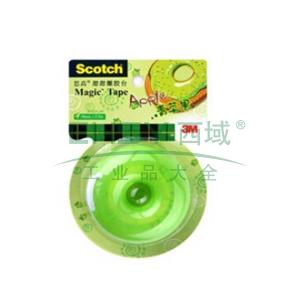 3M Scotch®胶带座,思高甜甜圈胶台 (青苹果) 单个