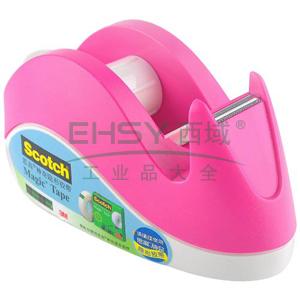 3M Scotch®胶带座,兔子胶带切割座-粉色 单个
