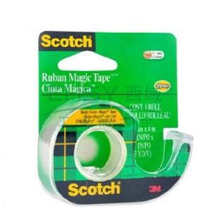 3M思高 胶带,103神奇隐形胶带3卷超值装,带简易切割座,单个