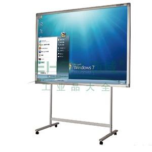 普乐士互动白板,IWB-1000  外形尺寸高1258mm×宽2309mm×厚41mm(对角103.5英寸)