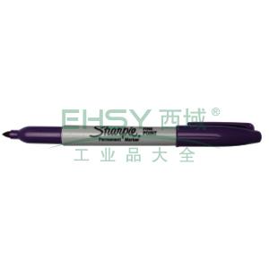 三福经济型永久性记号笔,精细1mm 紫色