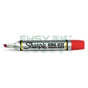 三福方嘴记号笔,5mm-8mm 红色