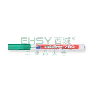 德国艾迪记号笔 油性记号笔,耐高温300度 线幅0.8mm 绿色