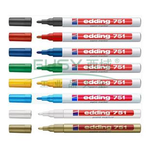 德国艾迪记号笔 油性记号笔,耐高温300度 线幅1mm-2mm黑色