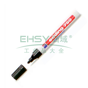 德国艾迪记号笔 油性记号笔,耐高温300度 线幅2mm-4mm黑色