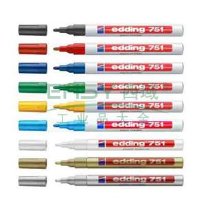 德国艾迪记号笔 油性记号笔,耐高温300度 线幅2mm-4mm银色
