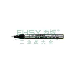 雪人极细记号笔 油性记号笔,线幅0.5mm 黑色 单支