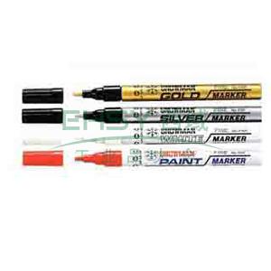 雪人 中粗记号笔,油性记号笔,线幅1-2mm 白色 单支