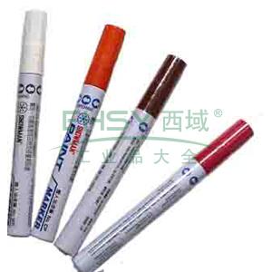 雪人特粗记号笔 油性记号笔,线幅1.5-3mm 棕色 单支