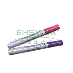 雪人特粗记号笔 油性记号笔,线幅1.5-3mm 紫色 单支