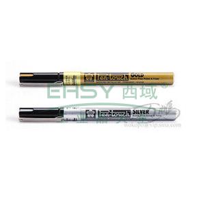 日本樱花 记号笔,油性记号笔,线幅0.7mm 银色 单支