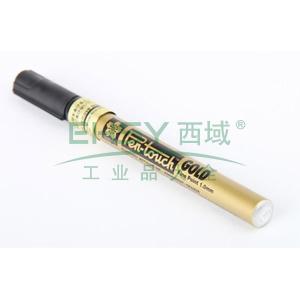 日本樱花 记号笔,油性记号笔,线幅1mm 金色 单支