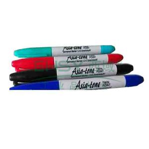 Asia-tone油性笔 双头 0.5-1.0MM 单支