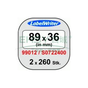 DYMO地址打印标签,89mm x 36mm ,适用LW450 Turbo