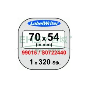 DYMO磁盘专用标签,70mmx54mm,适用LW450 Turbo