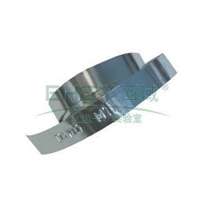 DYMO铝制无粘性标签带,12mm, 适用M1011