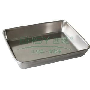 日式不銹鋼方盆,30*25cm 單位:個