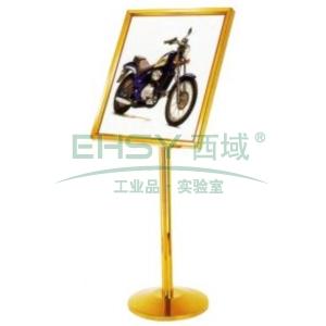 斜面指示牌,L630*W510*H1260,鈦金